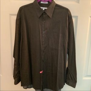 Perry Ellis dress shirt size XL GUC